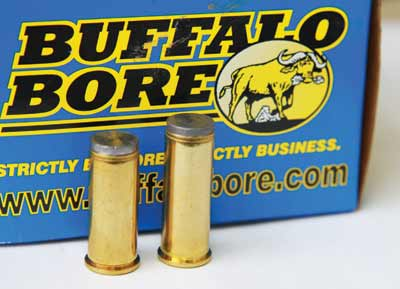 Buffalo Bore .38 Hardcast Wad Cutters