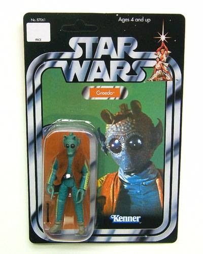 Vintage Greedo in Original Kennar Packaging