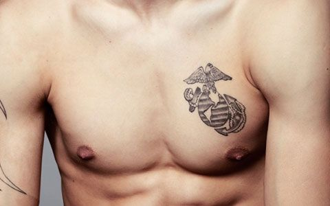 Marine Corps Logo Tattoo