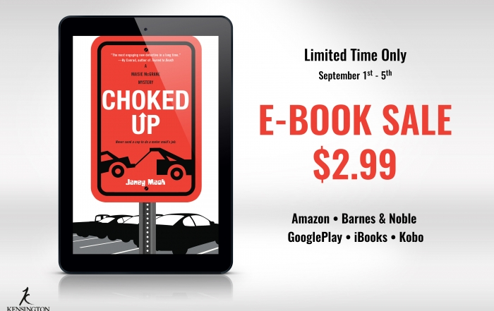 Choked-Up-E-Reader-Sale